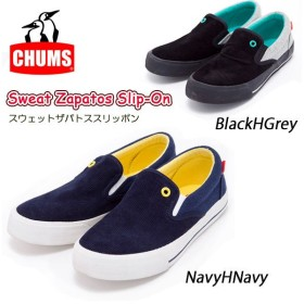 チャムス chums スニーカー Sweat Zapatos Slip-On ch63-0027