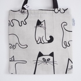 FROSO HANDTRYCK | CATS TOTE | トートバッグ【北欧 ねこ ネコ】
