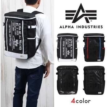 ALPHA INDUSTRIES バックパック/alpha アルファ リュック バックパック 大容量 ユニセックス 撥水 防臭