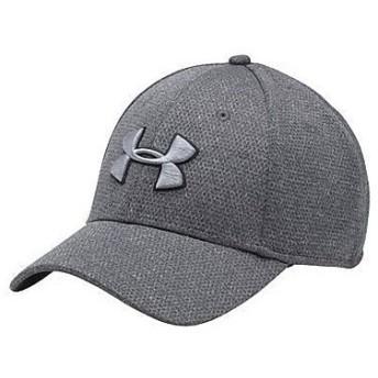 UNDER ARMOUR(アンダーアーマー)スポーツアクセサリー 帽子 UA HEATHER BLITZING CAP 1283151 メンズ LGXL BLACK/STEEL/BLACK