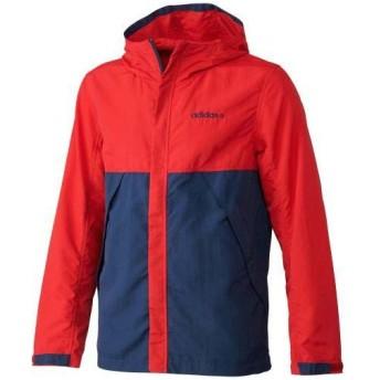 (セール)adidas(アディダス)メンズスポーツウェア ジャケット SC+ カラーブロックタッサージャケット JBA15 S06029 メンズ RED