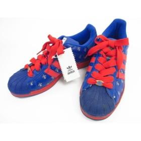 newest ea8eb 3a0eb 《メンズ 靴) adidas SUPERSTAR SD 35th PARIS 114189 ブルー 27.0cm 中古
