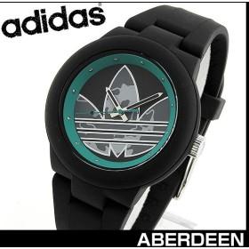 adidas アディダス ABERDEEN アバディーン ADH3106 海外モデル レディース メンズ ユニセックス 男性 腕時計 黒 ブラック 緑 グリーン ミリタリー