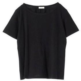 アースミュージックアンドエコロジー earth music&ecology バックシャンTシャツ (Black)