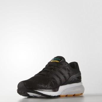 (セール)adidas(アディダス)シューズ カジュアル CLOUDFOAM FLOW BTJ77 AQ1312 メンズ コアブラック/コアブラック/イーキューティーグ...