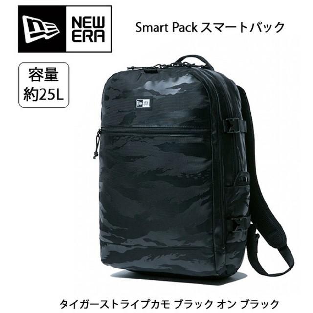 NEWERA ニューエラ Smart Pack スマートパック タイガーストライプカモ ブラック オン ブラック 11556609 カバン バックパック リュックサック アウトドア