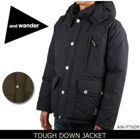 アンドワンダー and wander ジャケット TOUGH DOWN JACKET AW-FT609 【服】メンズ 保温 防寒 ダウン
