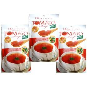 新日配薬品 国産トマトスープ 144g×3袋 【国内産 約18食分 tomato】