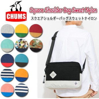 CHUMS チャムス Square Shoulder Bag Sweat Nylon CH60-2119