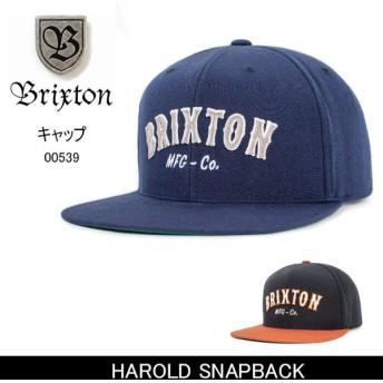 ブリクストン BRIXTON HAROLD SNAPBACK /00539 【帽子】 キャップ 帽子 ストリート アウトドア 秋冬物