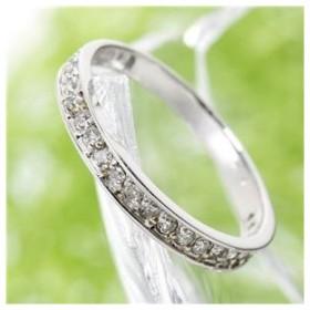 0.2ct ダイヤリング 指輪 エタニティリング 11号