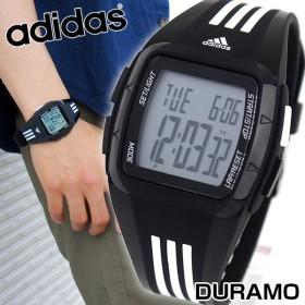 adidas アディダスデュラモ ミッド パフォーマンス デジタル 黒 白 メンズ レディース 腕時計 ブラック ホワイト ADP6093 海外モデル