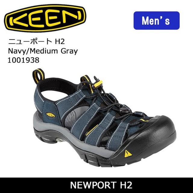 7d90c56f9a67 キーン KEEN サンダル NEWPORT H2 ニューポート H2 Navy Medium Gray 1001938  メンズ