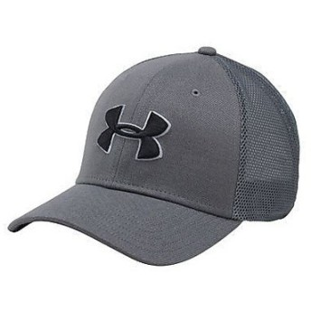 UNDER ARMOUR(アンダーアーマー)スポーツアクセサリー 帽子 UA CLOSER TRUCKER CAP 1291855 メンズ ONESIZE GRAPHITE/STEEL/BLACK