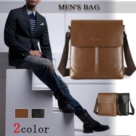 【宅配便送料別】ビジネスバッグ/ショルダーバッグ鞄 斜めがけ バッグ メンズバッグ 10月1日から10日入荷予定