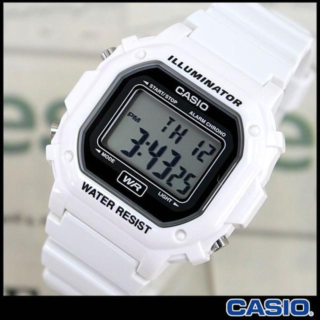 腕時計 CASIO カシオ 腕時計 デジタル F-108WHC-7A ホワイト 時計