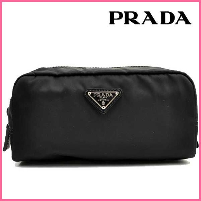 プラダ PRADA ポーチ コスメポーチ 1N0350 アウトレット レディース キャッシュレスで6%還元
