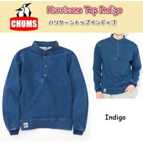 チャムス chums  トップス Hurricane Top Indigo ハリケーントップインディゴ 日本正規品 CH00-1042 【服】メンズ