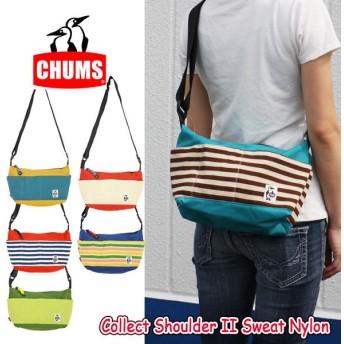 chums チャムス Collect Shoulder II Sweat Nylon ch60-0683