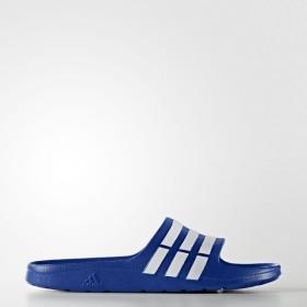 (セール)adidas(アディダス)シューズ メンズサンダル ウォーターシューズ DURAMO SLIDE IO476 G14309 パワーブルー/ホワイト/パワーブルー