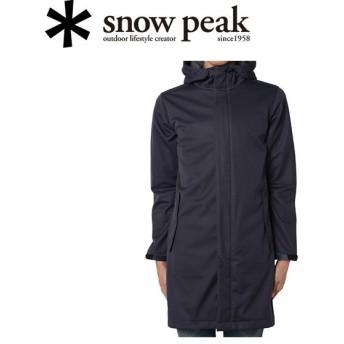 スノーピーク snowpeak コート/3L Softshell Coat XL / Navy/SW-15AU01005NV 【SP-APPL】