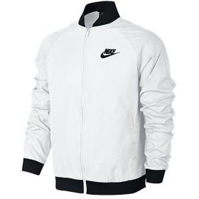 (セール)NIKE(ナイキ)メンズスポーツウェア ジャケット ナイキ ウーブン プレイヤーズ ジャケット 832225-100 メンズ ホワイト/ホワイト/(ブラック)