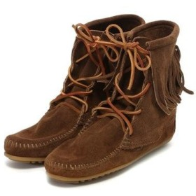ミネトンカ MINNETONKA Tranmer Ankle Hi Boot (DUSTY BROWN)