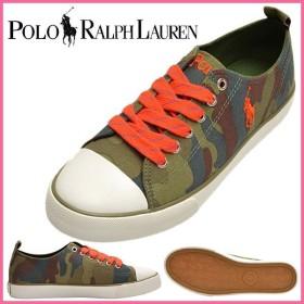 Polo Ralph Lauren 靴 ガールズ シューズ スニーカー ポロ・ラルフローレン 迷彩柄 HARBOUR