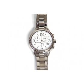 ウィッカ wicca レディース 腕時計 クロノグラフ ホワイト スター ブレスウォッチ BM1-113-11 新品 海外モデル