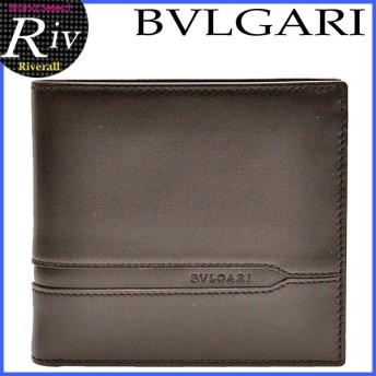 セール ブルガリ BVLGARI 長財布 二つ折り メンズ 新作 35375