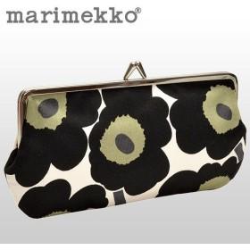 マリメッコ marimekko ポーチ ガマ口 花柄 Unikko ウニッコ 027003 キャッシュレスで全品6%還元