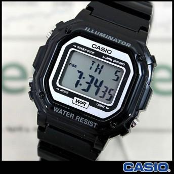 最安値に挑戦 CASIO カシオ 腕時計 デジタル F-108WHC-1A ブラック 時計