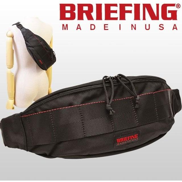 キャッシュレスで11%還元 ブリーフィング BRIEFING バッグ ボディバッグ スリングバッグ RED LABEL TRIPOD BRF071219