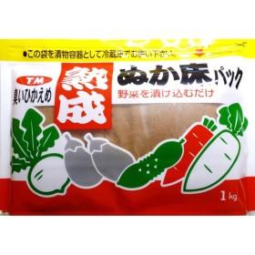 奈良つけもん屋の 熟成ぬか床パック(冷蔵庫用) 1kg 【つけもと 国内加工 漬物】