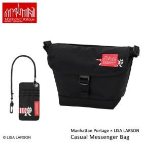 Manhattan Portage × LISA LARSON Casual Messenger Bag XS