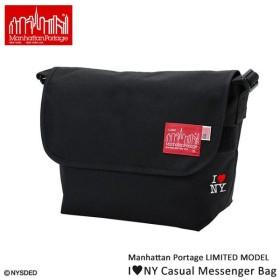 ManhattanPortage マンハッタンポーテージ I love NY Casual Messenger Bag Mサイズ MP1606JRINY