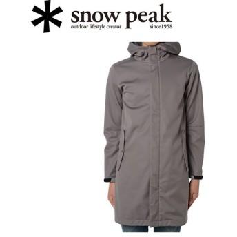 スノーピーク snowpeak コート/3L Softshell Coat L / Charcoal/SW-15AU01004CH 【SP-APPL】