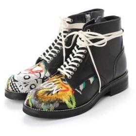 エヌティ NT(NUMBER TWENTY-ONE) ブーツ (BL)