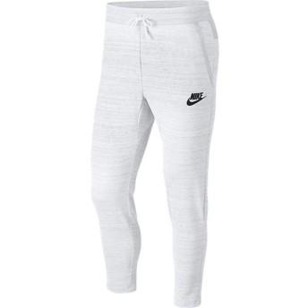 (セール)NIKE(ナイキ)メンズスポーツウェア ロングパンツ ナイキ AV15 ニット パンツ 885924-100 メンズ ホワイト/ヘザー/(ブラック)