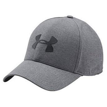 (セール)UNDER ARMOUR(アンダーアーマー)スポーツアクセサリー 帽子 UA COOLSWITCH AV CAP 1291856 メンズ LGXL GRAPHITE/BLACK