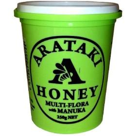 アラタキ マルチフローラウイズマヌカ 250g  【蜂蜜 ハチミツ 100%純粋】