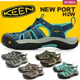 キーン KEEN サンダル ニューポート H2 NEWPORT H2 レディース スポーツサンダル 靴 アウトドア 防水 定番 レジャー