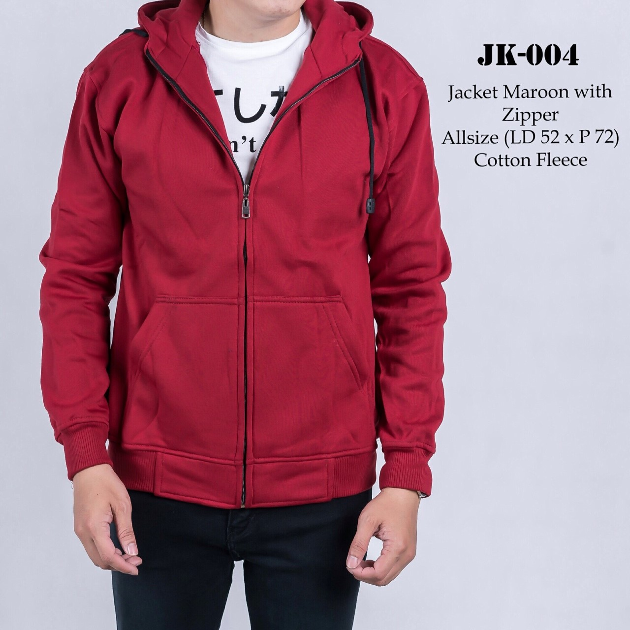 Exitoperfect Shop Line Red Blouse Sj0015 Jk004 Jacket Maroon With Ziiper
