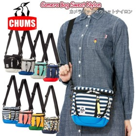 チャムス chums カメラバッグ Camera Bag Sweat Nylon 正規品 スウェットナイロン  CH60-0698