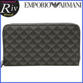 エンポリオアルマーニ EMPORIO ARMANI 財布 長財布 ラウンドファスナー メンズ y4r063