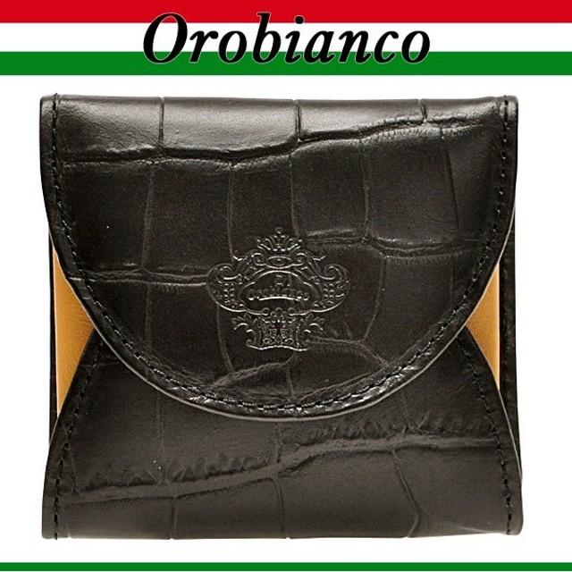 4cde2a1a1e76 オロビアンコ OROBIANCO メンズ 小銭入れ コインケース クロコ調 portamonete