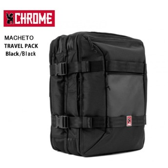 CHROME クローム バックパック TRAVEL PACK  Black/BG209 【カバン】トラベルパック/日本正規品