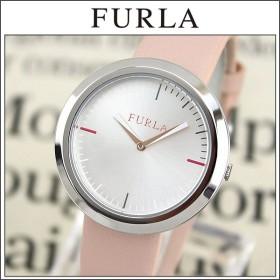 FURLA フルラ R4251103505 海外モデル VALENTINA ヴァレンティナ アナログ レディース 腕時計 ウォッチ ピンク 銀 シルバー 革バンド レザー