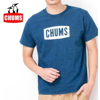 チャムス chums Tシャツ CHUMS Logo T-Shirt Indigo チャムスロゴTシャツインディゴ CH01-1337 メンズ 正規品【服】【t-cnr】【メール便発送・代引き不可】