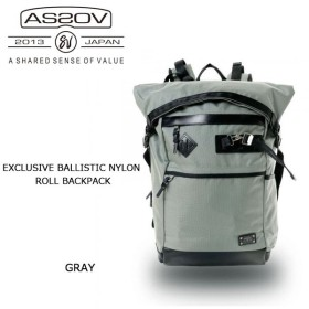 AS2OV アッソブ EXCLUSIVE BALLISTIC NYLON ROLL BACKPACK 061310-15